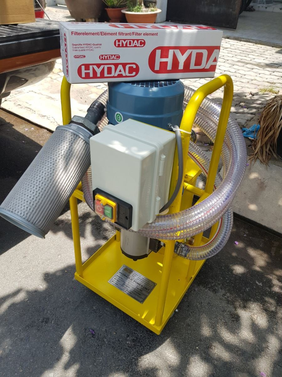 Production of hydraulic oil filtration unit & filtration system
